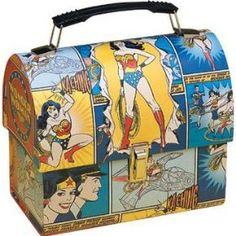 Wonder Woman lunch box
