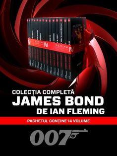 Aum toate cele 14 volume de actiune si spionaj din seria James Bond de Ian Fleming este cu 50% reducere!