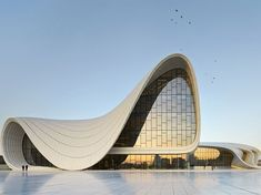 Zaha Hadid Design New Cultural Centre In Baku, Azerbaijan