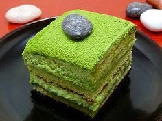 This a version of Tiramisu dessert with Japanese green tea Matcha. Ingredients - For mascarpone crea Green Tea Recipes, Sweet Recipes, Cake Recipes, Dessert Recipes, Green Tea Dessert, Tiramisu Dessert, Ganache, Cupcakes, Japanese Sweets
