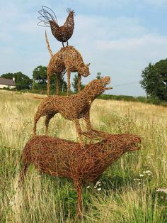 willow withy for sculpture - Google Search