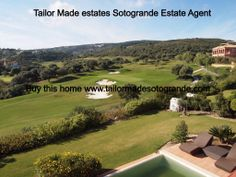 Location of Recent European Tour event here . Club de golf La Reserva Sotogrande Spain . Here as seen from a detached 4 bed villa owner paid 1.3 million for selling now 575,000 euros