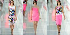 Designers Justin Thornton and Thea Bregazzi from British label Preen - SS2014 Collection