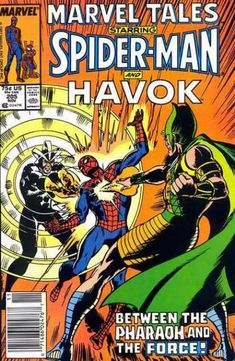 "Cry Havok, and let loose the ""X-Men"" (""First Class"") mutant and Living Pharaoh/Monolith! Also let loose ""Spider-Ham""!"