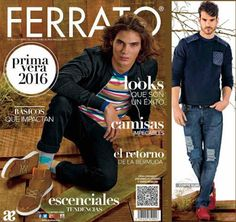 Catalogo Digital Andrea Ferrato 2016. Conoce la última moda de caballero en ropa y zapatos para la presente temporada en Mexico.