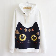 Cute cat hoodie pullover SE9263