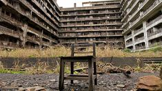 25 Creepiest Places on Earth - Gunkanjima - Literally translated as Battleship Island due to its supposed resemblance to the massive vessel, like several other places on this list Gunkanjima used to be a mining facility, and just like those other places it shut down. Since then it has deteriorated even further and even been featured on the History Channel's show Life After People