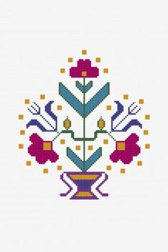 Free embroidery designs and cross stitch patterns Indian Embroidery Designs, Embroidery Patterns Free, Cross Stitch Patterns, Cross Stitching, Cross Stitch Embroidery, Just Cross Stitch, Dmc, Cross Stitch Supplies, Needlepoint Kits
