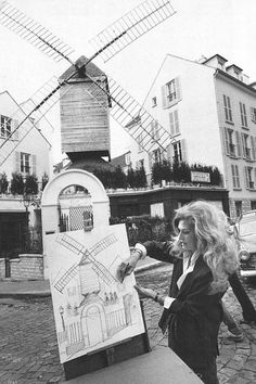 Dalida peintre