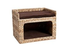 1b54bac77238 Karlie Flamingo Banana Leaf Deluxe Cat Bed for Wall Mounting: Amazon.de: Pet