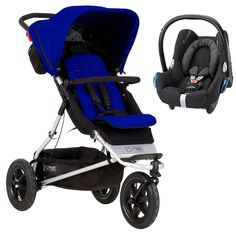 Mountain Buggy +One 2in1 Travel System-Marine  Description: Package Included: Mountain Buggy +One 3 Wheeler Buggy Maxi Cosi Car Seat (4 Options available for Infant Carrier, see Drop-Down Menu) Car seat adapters Mountain Buggy +One MB3 Bundle: +one is an ultra versatile all rounder, that has been built on the award winning urban jungle...   http://simplybaby.org.uk/mountain-buggy-one-2in1-travel-system-marine/