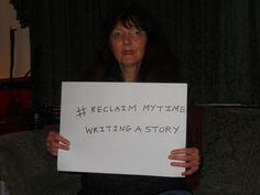 Kathryn Hollingworth would write a story with her extra time, undisturbed by cold calls or spam emails! #ReclaimMyTime