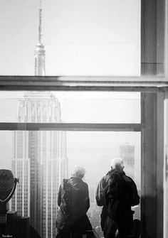 The Empire views by Donibane #nyc #newyork #america #manhattan #donibane #empirestate #people #b&w