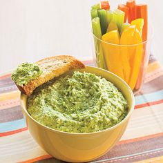 Asparagus pesto & more recipes to boost nutrition through color from Southern Living