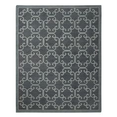 Iron Gate Flatweave Rug, Indian Ink