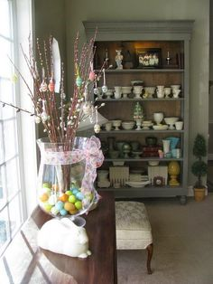 Michelle - Blog #Spring #wind Fonte : http://www.familyholiday.net/easter-holiday-home-decorating-ideas