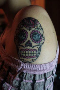 Teschietto messicano, posizione braccio
