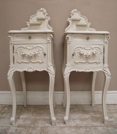 Wonderful Antique French Bedside Tables