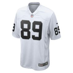 Nike NFL Oakland Raiders (Amari Cooper) Men's Football Away Game Jersey Size Medium (White)