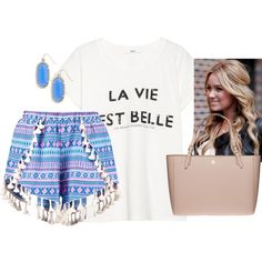 You go glen coco✌️ by kaley-ii on Polyvore featuring polyvore, fashion, style, MANGO, Boohoo, Tory Burch and Kendra Scott