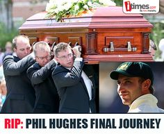 #PhillipHughes you will always remain #63notout! Cricket world bids farewell to one of its dearest sons