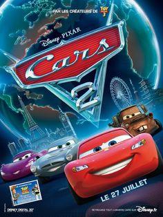 2011 CARS 2 de John Lasseter et Brad Lewis