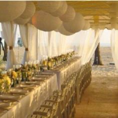 Beach wedding ideas http://prettyweddingidea.com/
