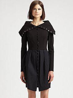 Fashion Star Coatdress by Silvia Arguello  I really, really love this.  No really.