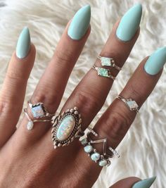 Opal dreams tonight with @child_of_wild in #the2bandits Canyon Ring Set