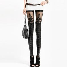 Buy 'Angel Love – Lace-Up Faux-Leather Leggings' at YesStyle.com plus more China items and get Free International Shipping on qualifying orders.