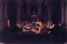 Eucharist - Nicolas Poussin, 1637, Series: Seven Sacraments