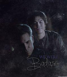 Alaric & Damon... I love me some vampire diaries!