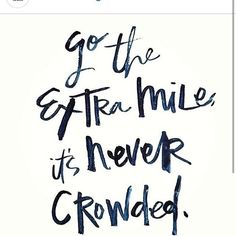 "Repost from @robgoodmoney I find this to be Very true. It's crowded when your doing what everyone else is doing ""the average"". Yet if you dare to go that extra mile take on that bigger challenge, or go against the masses you will see how few people there are. You will find yourself in the company of leaders and thinkers. It's Small but Great group though. Join us! #success #determined #hustle #extra"
