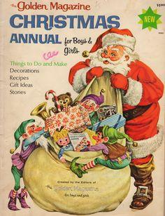 The Golden Magazine Christmas Annual, 1966.