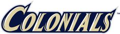 George Washington Colonials Wordmark Logo - NCAA Division I (d-h ...