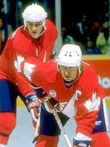 Mario Lemieux And Wayne Gretzky Canada Cup Ice Hockey Players, Nhl Players, Mike Bossy, Canada Cup, Canada Hockey, Mario Lemieux, Hockey Boards, Wayne Gretzky, Nhl Games