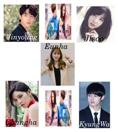 """KCTV Kdrama: 미스터 오만한 (Mr. Arrogant) Cast"" by k-central ❤ liked on Polyvore"