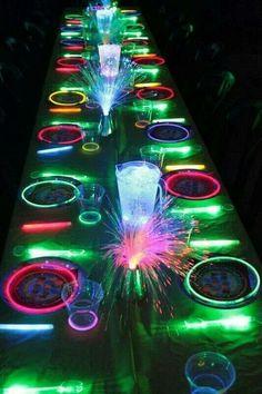Neon party #EbatesTurns16