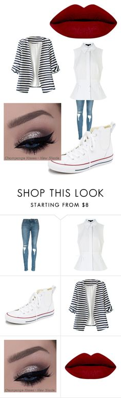 """Untitled #7801"" by coolkitymecool ❤ liked on Polyvore featuring Alexander Wang, Converse, WithChic, women's clothing, women, female, woman, misses and juniors"