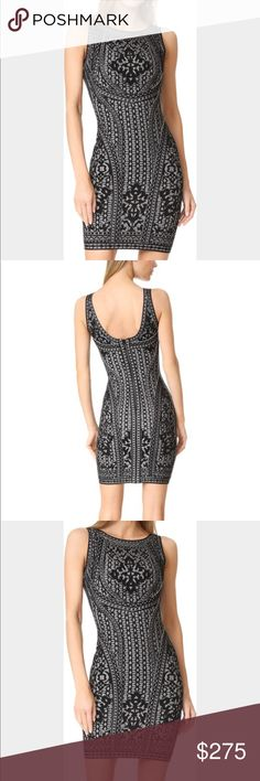"""⚡️⚡️no offerHerve Leger """"jazmin"""" dress size medium New with tags. Note: missing the tear at seam tag that's usually on the back. Color: pacbluecom Herve Leger Dresses"""