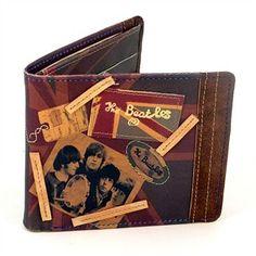Billetera Beatles. John, Paul, George y Ringo, cuatro chavales que desde Liverpool se transformaron en la bandera de los jovenes de todo el mundo y revolucionaron la música, la moda, y las costumbres de generaciones y generaciones...