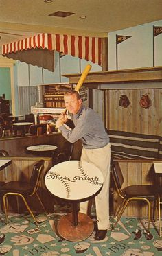 Vintage Postcard: Mickey Mantles Holiday Inn - Joplin, Missouri