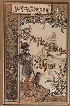 Spaziergänge in den Alpen - Wanderstudien und Plaudereien von J. V. Widmann, Frauenfeld Verlag von J. Huber 1898