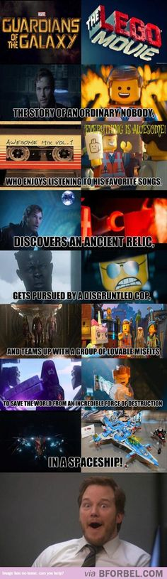 Guardians Vs Lego Movie…