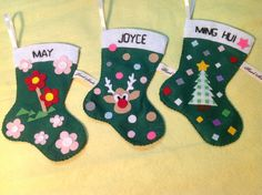 Christmas gifts - candy socks