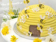How to create a honeybee baby shower