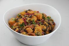 Recipe: Sweet potato salad with black beans