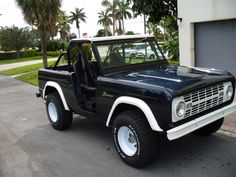 Better yet, this one! (1966 Ford Bronco.)