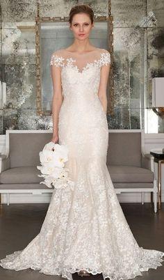 25 Spring 2017 Wedding Dresses That Inspire | HappyWedd.com #PinoftheDay #spring #Spring2017 #wedding #dresses #inspire