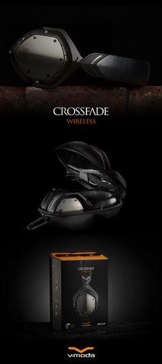 Crossfade Wireless Bluetooth Headphones. Award-Winning Crossfade Sound, Bluetooth Freedom